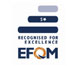 LOGO RECOGNISED FOR EXCELLENCE / EFQM